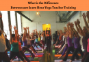 Difference Between 200 & 500 Hour Yoga Teacher Training