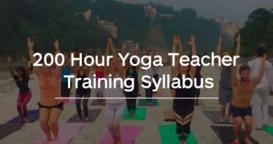 200 Hour Yoga Teacher Training Syllabus